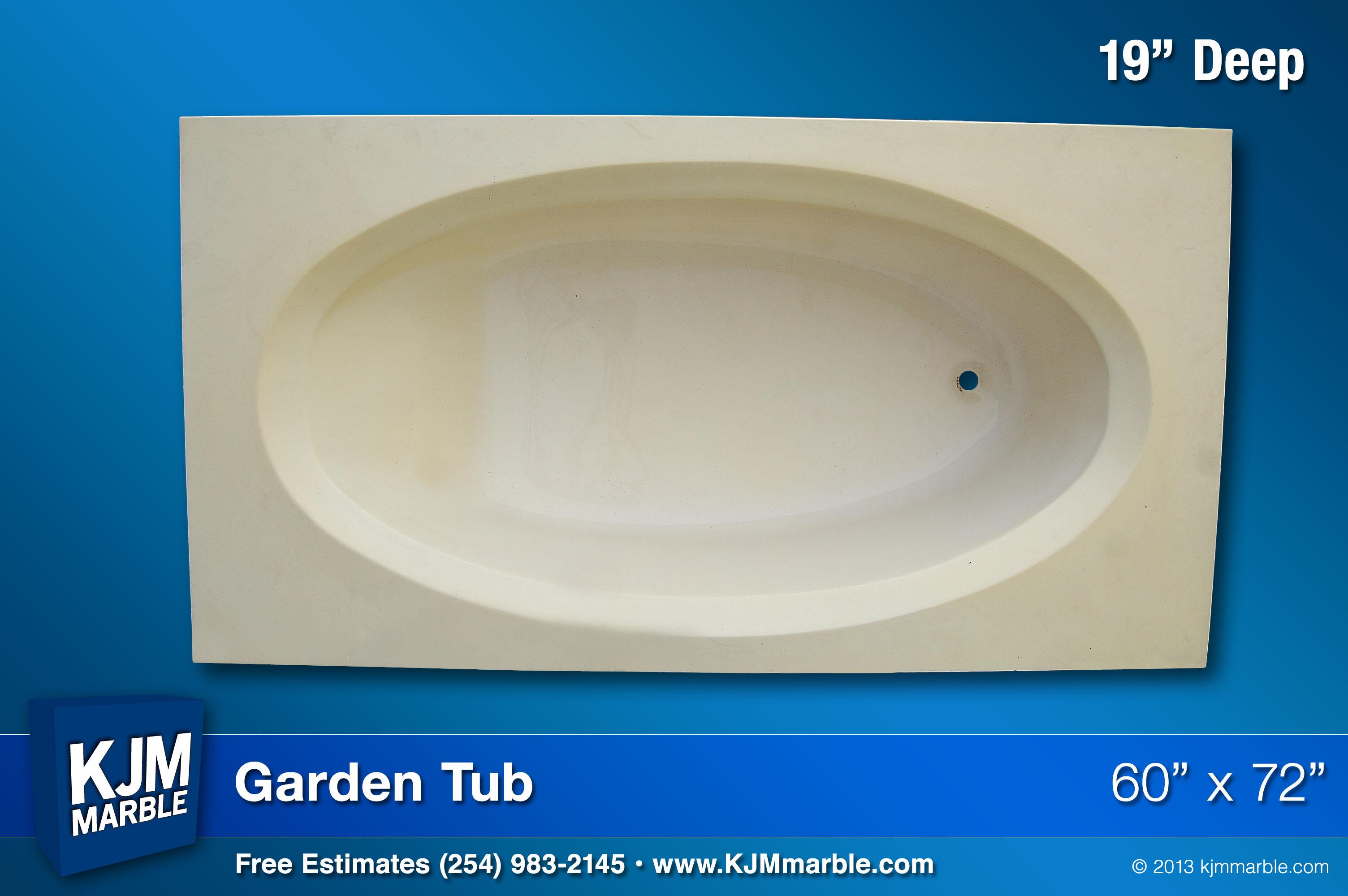 KJM Marble | Garden Tubs